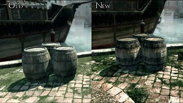 Comparison screenshots