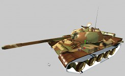 New textures for T-54