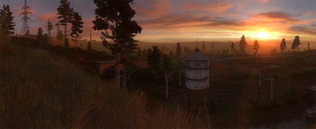 Another beautiful evening in the Zone.