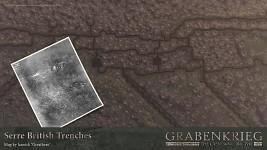 Serre british trenches
