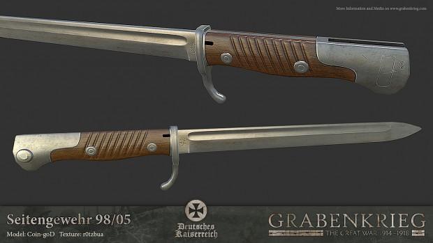 Seitengewehr 98/05