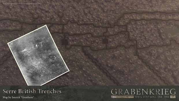 Serre british trenches