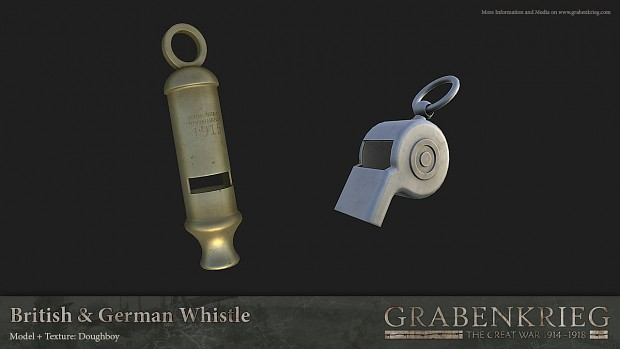 British & German Whistles