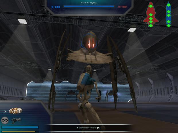 Star Wars Battlefront II:The Ultimate Battle TUB_Vulture_Landed