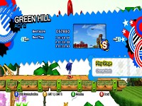 Sonic Jumperations Green Hill Hub World
