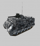 New Alternative Arctic Texture for M163 AA Vulcan