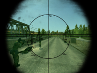 Realistic 1ПЗ-3 Sight (BMP-2, BMD-2, BMP-3 Sight)