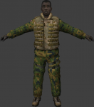 US Heavy Soldier Dual Tex Camo