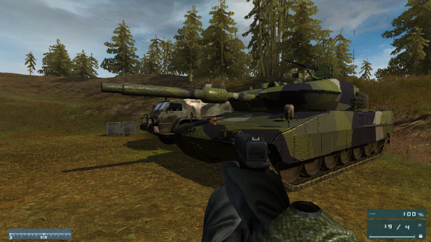 New Textures for the Swedish Leopard 2