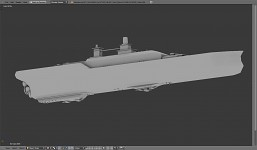 USS Constitution with weapons WIP 2