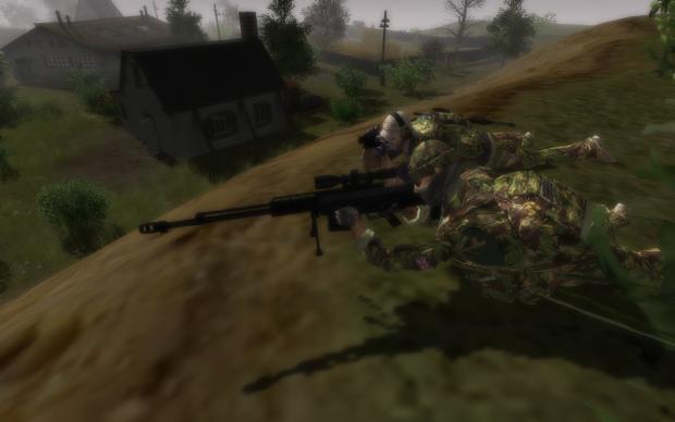 Special Air Service Sniper Team