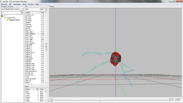 My friend is makng spider man animations