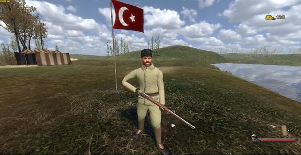 Turkish infantry