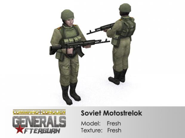 Soviet Motostrelok