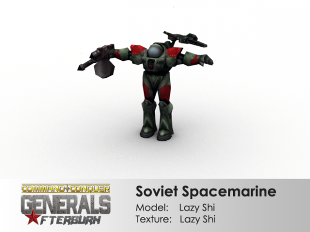 Soviet Spacemarine