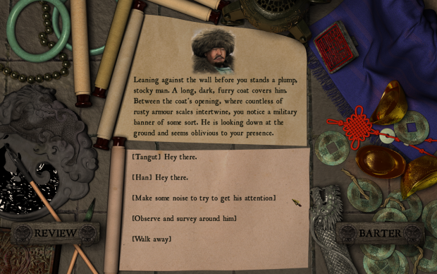 Dialogue Screen