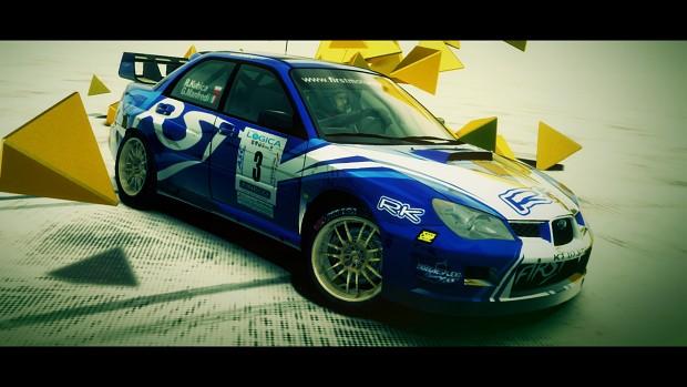 Subaru Impreza WRC S12 - R.Kubica - F1RST