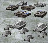 new Arctic skins for German tanks & mech