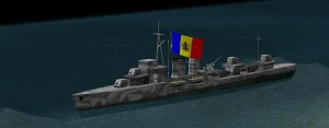 Romanian destroyer