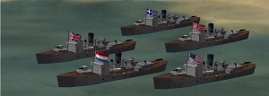 allied corvettes
