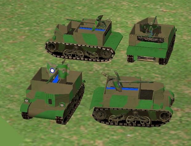 Australian Bren carrier anti tank gun