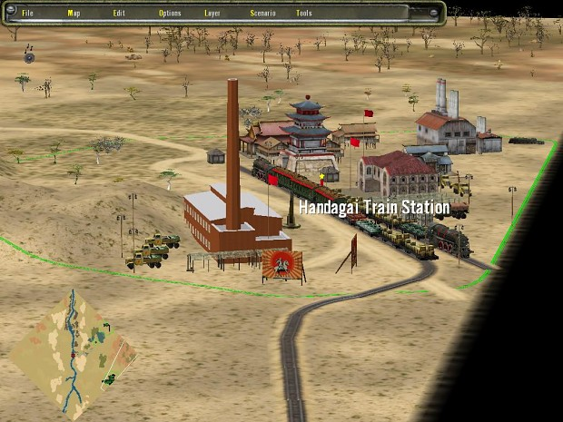 new SP Map Khalkin Gol:  Japanese southern supply base