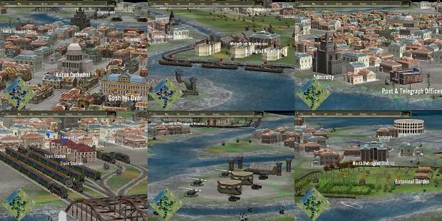 new map (in progress) for Leningrad