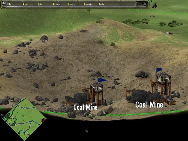 Tengxian:  coal mines