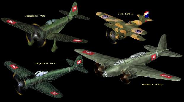 revised Thai aircraft skins