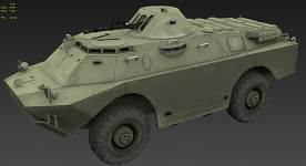 BRDM-2 (armored reconnaissance-patrol vehicle)