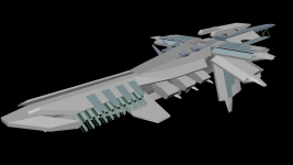 Reworked WIP Frigate