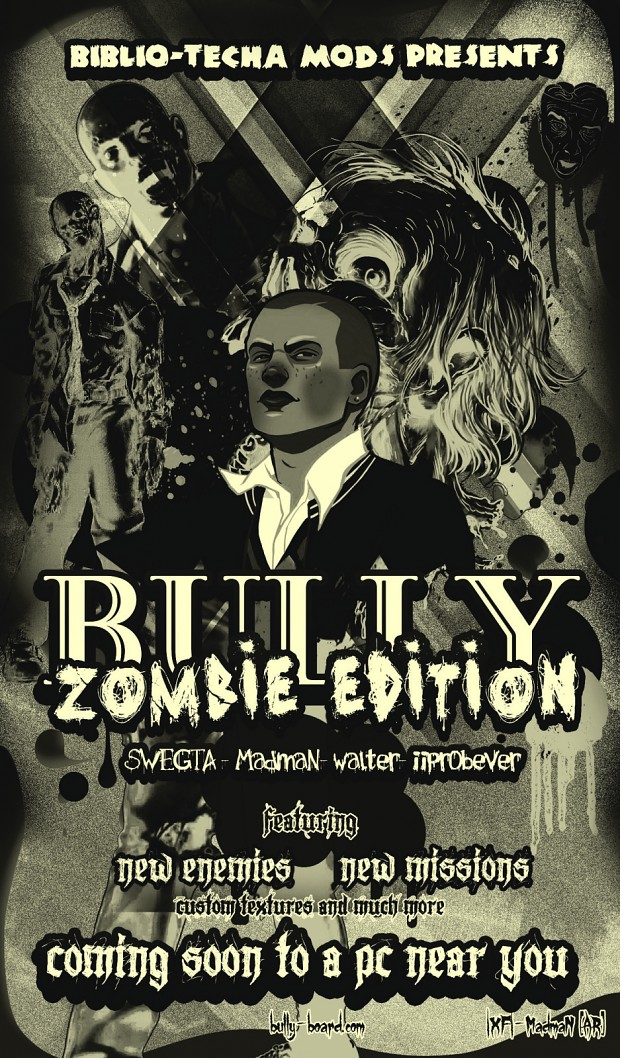 Bully : Zombie Edition Official Poster!