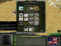 World War II English Version Game Screen 1
