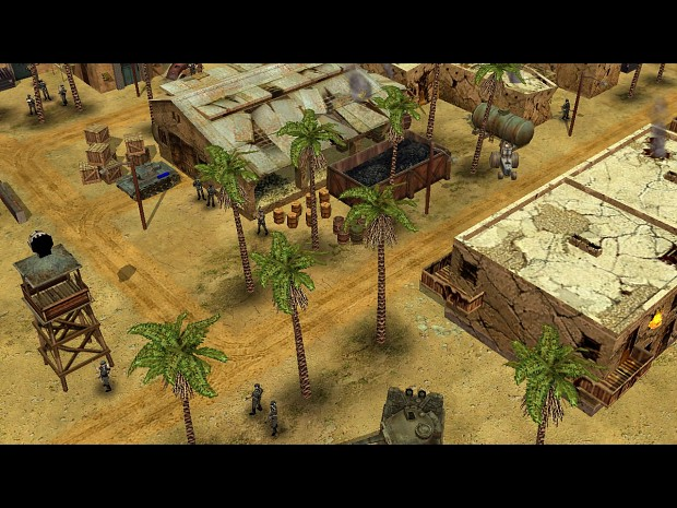 Screens from mission #5 (Allies company)
