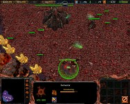 Warcraft 3: Starcraft 2 zerg mission 1 Demo