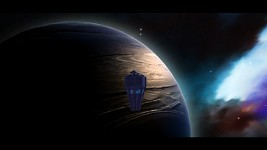 New Blue Gas Giant + New Nebula Skydome