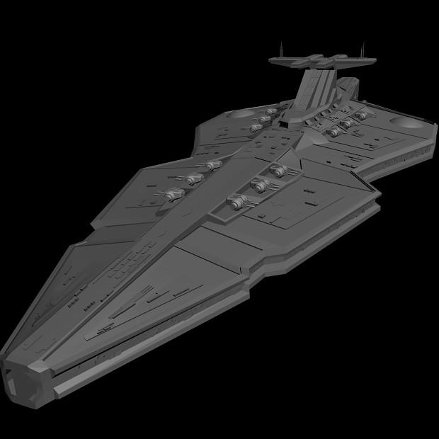 New Heavy Cruiser WIP