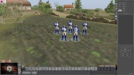 501st legion with captain Rex & commander Appo