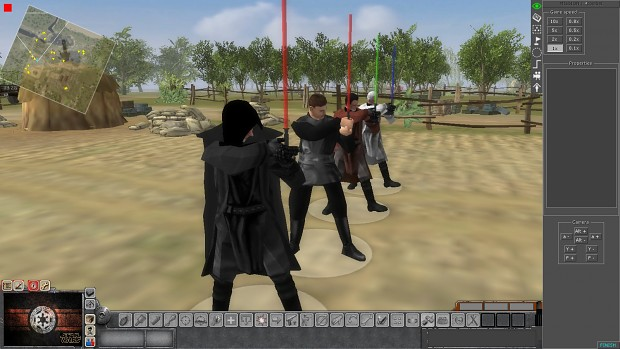 Siths and Jedis with lightsabers - WIP