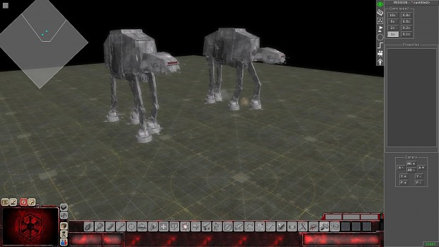 AT-AT moving