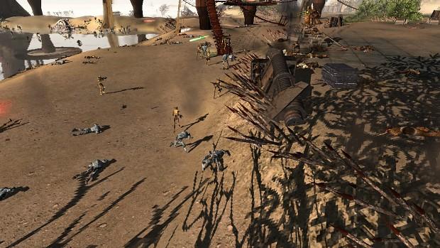 Droid Invasion of Kashyyyk