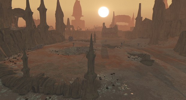 Beauty on Geonosis