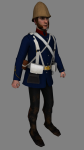New British artillery tunic