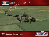 Mi-8 Serbian air force Camuflage scheme