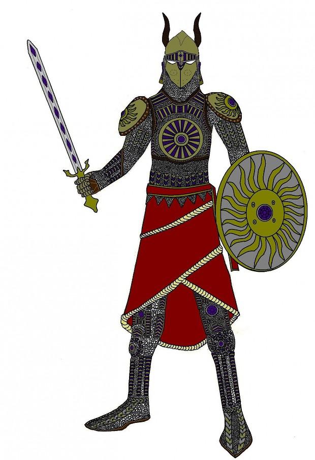 Grey folk swodsman