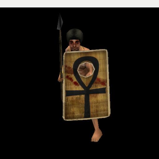 Egyptian Archer, Javelinist, Spearman