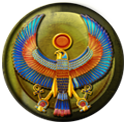 Egyptian Emblem by Lion