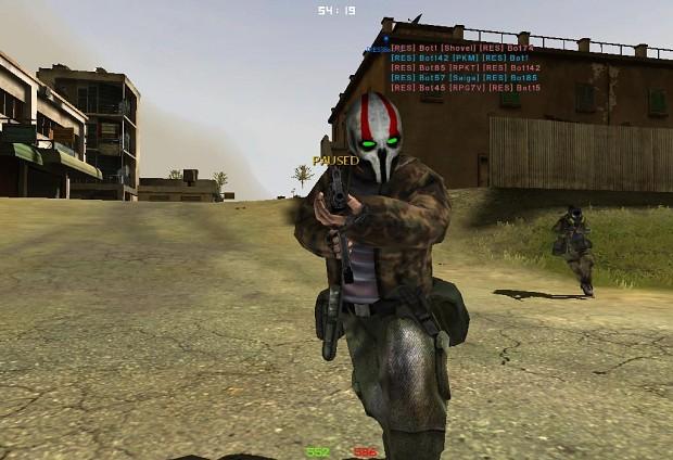 Mask for Assault Rebels