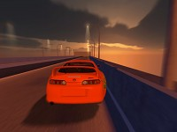 Toyota Supra In Motion!
