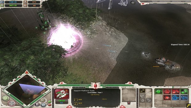 Eldar D-Cannon effects test